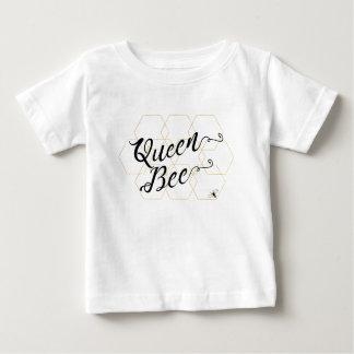 """Oro Hexies de la """"abeja reina"""" y abeja Playera De Bebé"""