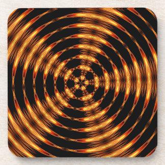 Oro hipnótico posavasos