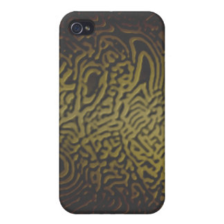 Oro iPhone4 de la selva iPhone 4/4S Carcasa