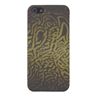 Oro iPhone4 de la selva iPhone 5 Carcasa