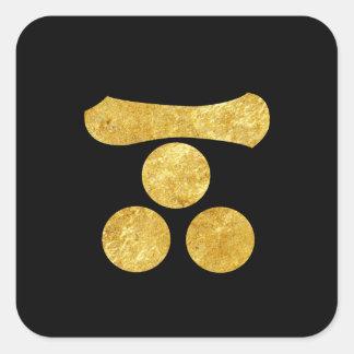 Oro japonés del clan del samurai de Mori lunes en