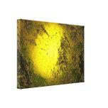 Oro Lienzo Envuelto Para Galerías
