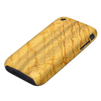 Oro líquido #1c tough iPhone 3 carcasas