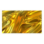 Oro líquido abstracto tarjetas de visita