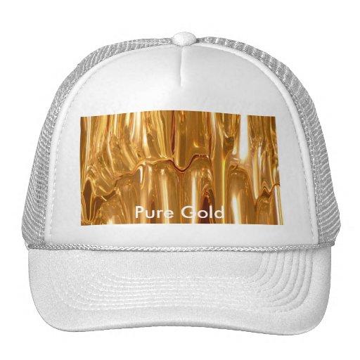 Oro líquido gorras