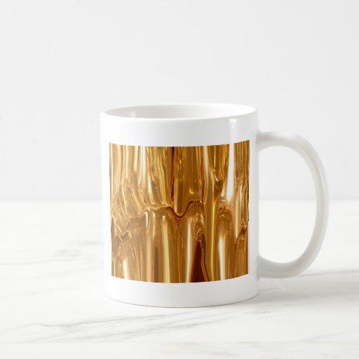 Oro líquido taza