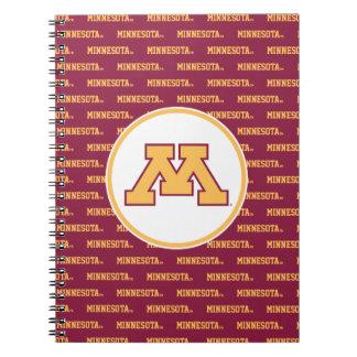 Oro M de Minnesota Notebook