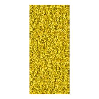 oro machacado tarjeta publicitaria personalizada