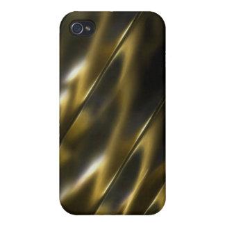 Oro metálico iPhone 4 cárcasas