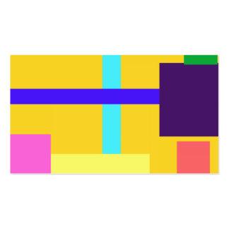 Oro minimalista tarjetas de visita