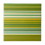 Oro moderno y rayas verdes azulejos ceramicos