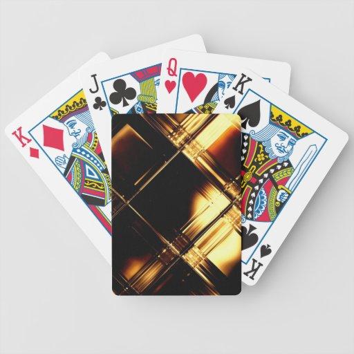 Oro negro. Tarjetas que juegan Baraja Cartas De Poker