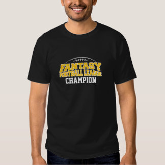 Oro negro y amarillo del campeón del fútbol de la camisas