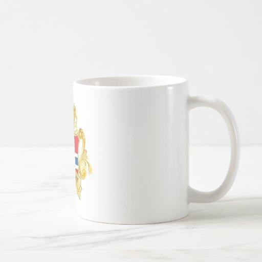 Oro Noruega Tazas De Café