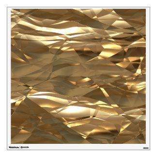 ¡Oro, oro, oro! - Modelo elegante del oro Vinilo Adhesivo