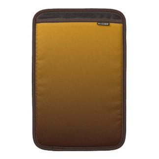 Oro picante Brown Ombre Fundas Para Macbook Air