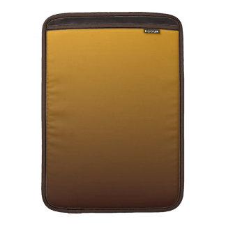 Oro picante Brown Ombre Funda Macbook Air
