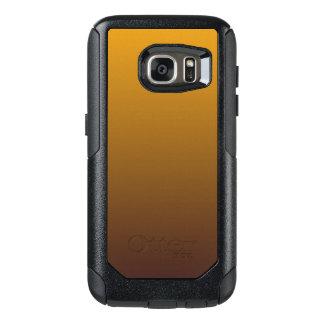 Oro picante Brown Ombre Funda Otterbox Para Samsung Galaxy S7
