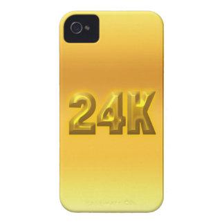 Oro puro Case-Mate iPhone 4 cobertura