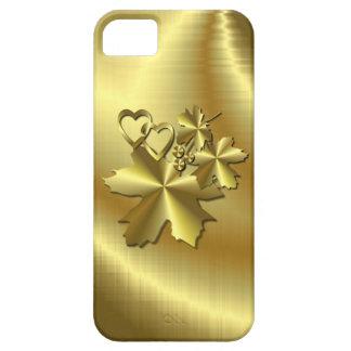 Oro puro funda para iPhone SE/5/5s