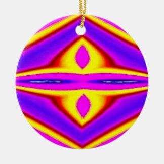 Oro púrpura 2 diseños en 1 ornamento del navidad ornamento para reyes magos