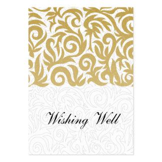 oro que desea tarjetas bien plantillas de tarjetas de visita