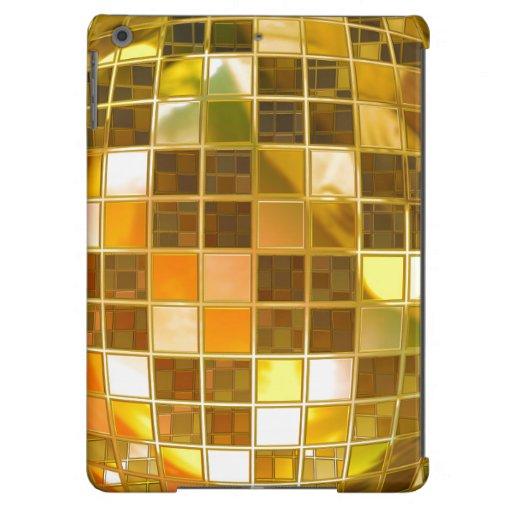 Oro retro de la bola de discoteca
