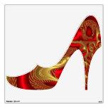 Oro rojo del multicolor del zapato elegante