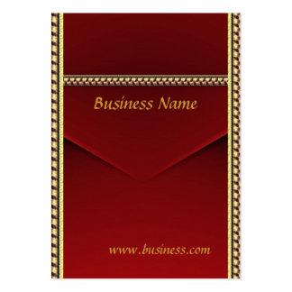 Oro rojo del terciopelo del negocio de la tarjeta  tarjetas de negocios