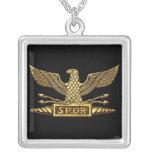 Oro romano de Eagle Colgante