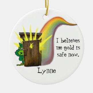 Oro seguro de los Leprechauns, Ornamento De Reyes Magos