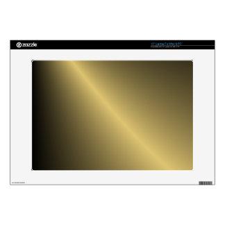 Oro sombreado skins para 38,1cm portátiles