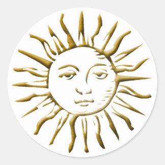 Oro Sun - pegatina