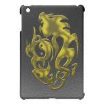 Oro torcido del dragón iPad mini protectores
