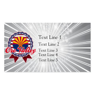 Oro Valley, AZ Business Card Template