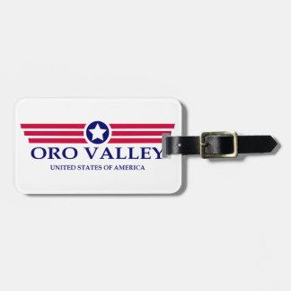 Oro Valley Pride Luggage Tag