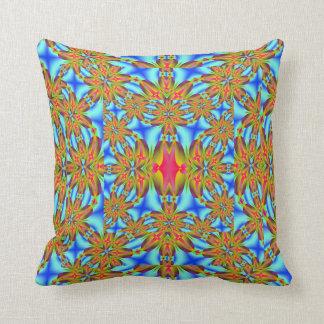 Oro y almohada azul de MoJo del americano del frac