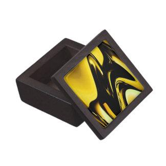 Oro y arte pop negro cajas de joyas de calidad