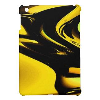 Oro y arte pop negro iPad mini funda