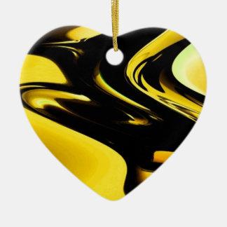 Oro y arte pop negro ornato