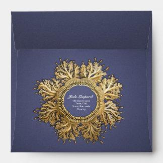 Oro y azul de Toreuma Bellagemma Sobre