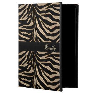 Oro y caja negra del aire 2 del iPad de la cebra