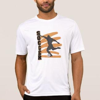 Oro y camisetas masculinas negras del jugador de polera
