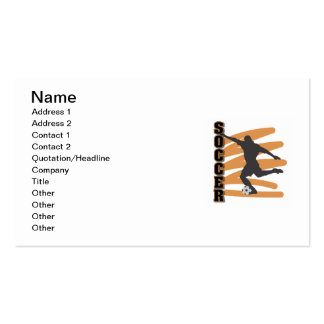 Oro y camisetas masculinas negras del jugador de tarjetas de visita