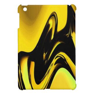Oro y caso del iPad negro del arte pop mini iPad Mini Carcasas