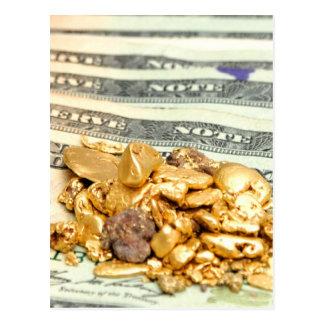 Oro y dinero postal