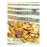 Oro y dinero tarjeta postal