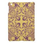 Oro y diseño púrpura del Victorian - modificados p iPad Mini Cárcasas