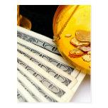 Oro y efectivo postal