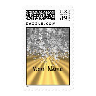 Oro y falso brillo personalizados envio